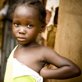 photo of african girl